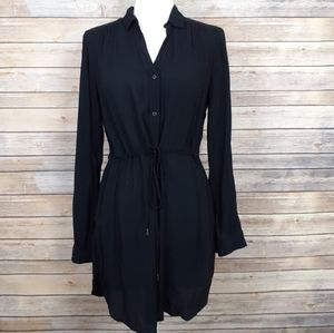 Anthro HD In Paris Button Front Shirt Dress